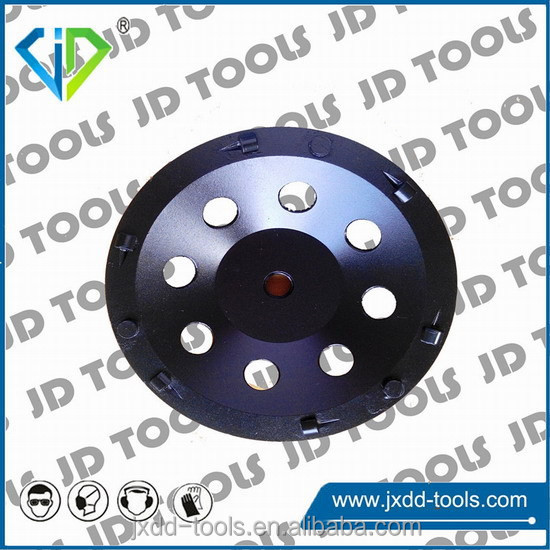Good quality PCD cup wheel for epoxy coating