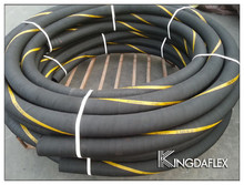 HEAVY DUTY ANTI-DEFLECTION EXHAUST GASSES SUCTION HOSE, POLYAMIDE SPIRAL CORRUGATED COVER