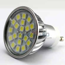 Classic type 4W LED light bulb Epistar chip 5050SMD GU10 dimmable LED spotlight lamp