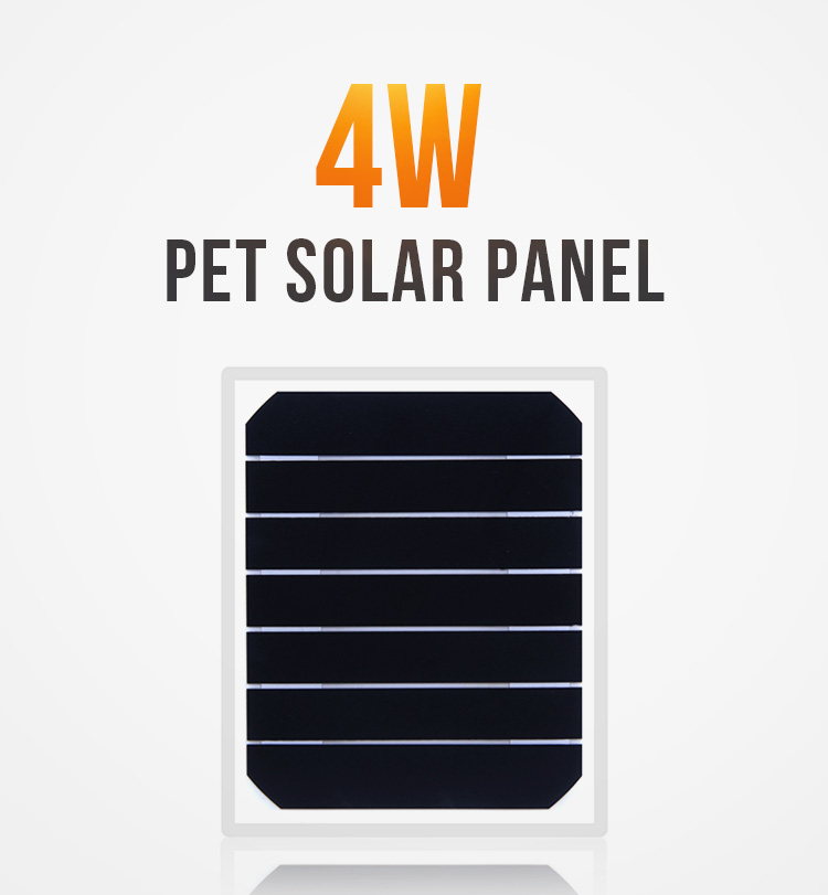 Customized 4W pet laminated 3v 9v mini SOLAR CELL SOLAR PANEL use for hat