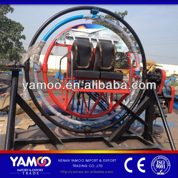 [Yamoo] Amusement Park Rides Manufacturer 4 Seats <strong>Human</strong> Gyroscope For Sale