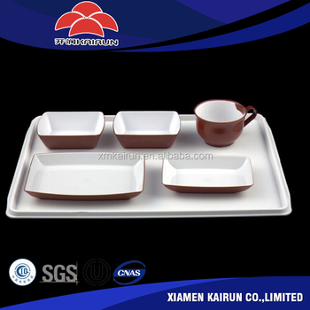 China suppliers wholesale aviation plastic tableware