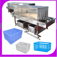 Poultry cage washing machine/ plastic chicken house washing machine