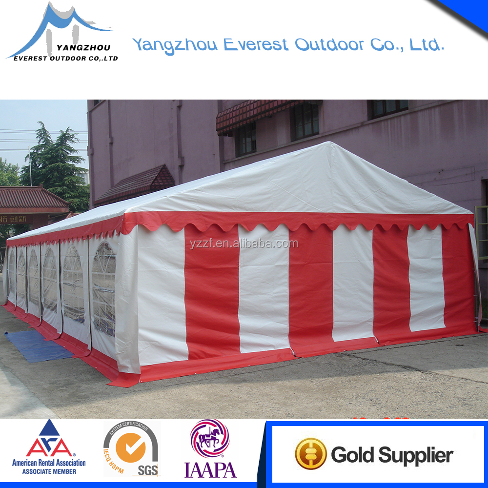 customized material white wedding marquee party tent 6x12 for sale