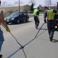 Asphalt Crack Filler for Cracks Repair on Aphalt and Concrete Pavement