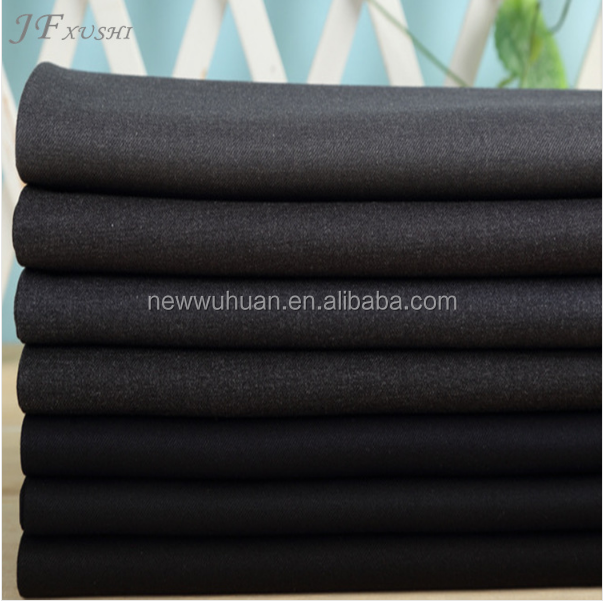 Bottom Price Basic 230grams Tr Solid Mens Suiting Fabrics/65%polyester 35%viscose Tr Antistatic Suiting Fabrics
