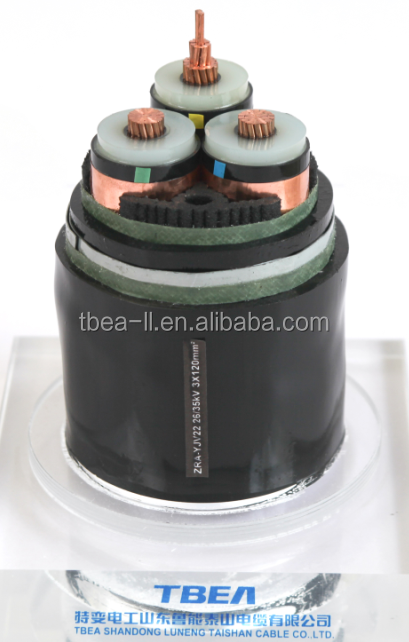 Factory supply types of underground cables for power transmission