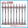 antique galvanized european aluminum garden fen/china used ornamental modern laser cut iron fence panels for villas homes garden