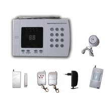 wireless home alarm security system for building