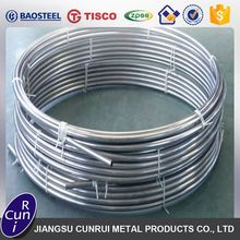 Professional warehouse stainless steel coil pipe price list