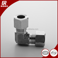 Stainless Steel 90 Degree 3000 PSI Compression Din2353 Elbow Tube Fitting