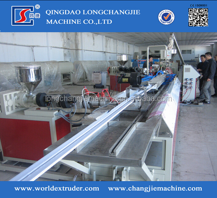 UPVC window profile production line / UPVC window fabrication machine