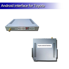 <strong>Android</strong> GPS navigation multimedia video interface for camry
