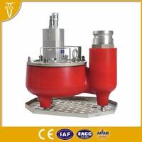 hydraulic powered submersible trash pump