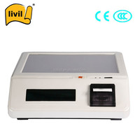 15 inch windows cheap pos terminal with pos thermal printer