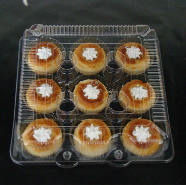 Plastic trays for cup cake