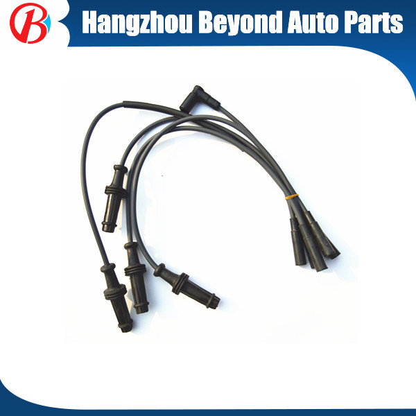 Hight quality ignition coil colourful and silicon material LIFAN 520 spark plug wire