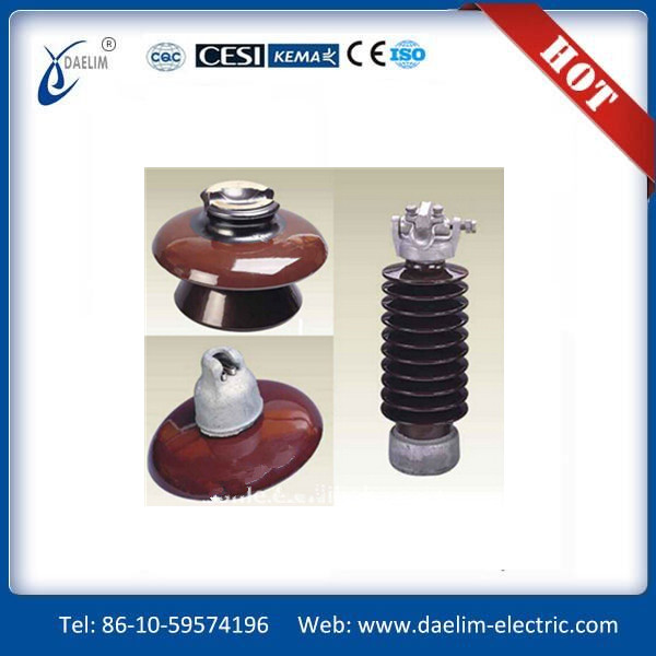 Manufacture Disc Suspension Porcelain Insulators (70KN-80KN)