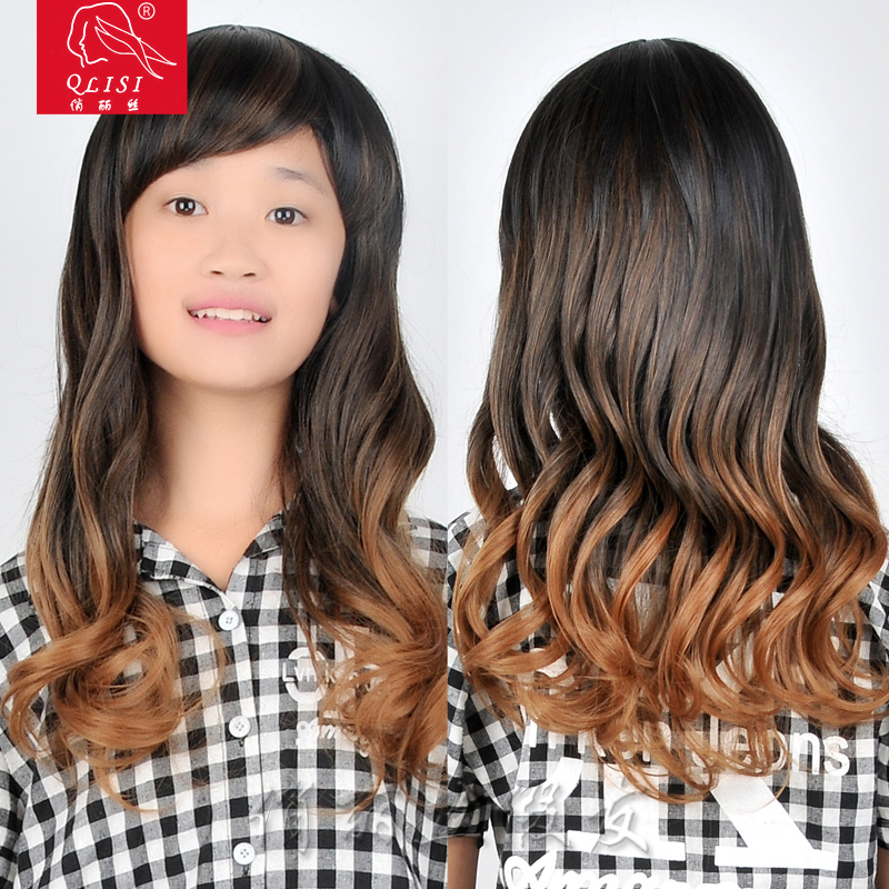 "8""-30"" Synthetic Ombre Hair Wig For Black Women"