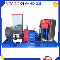 High Quality 500-1500bar UHP washer to revove diesel oil with Industrial Cleaning