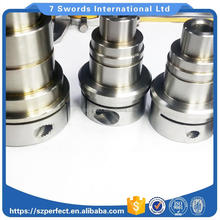 Aluminum/ Brass,/Copper,/ Stainless Steel connectors cnc machining