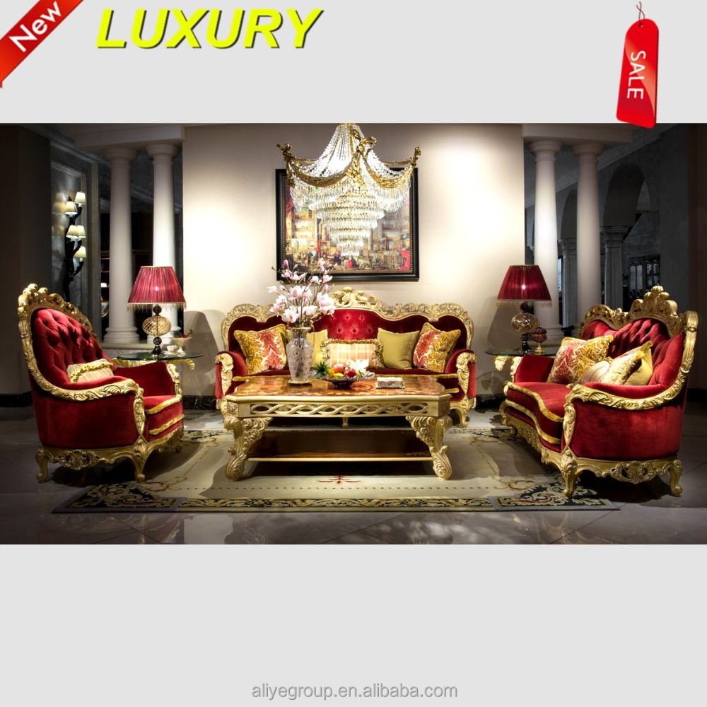fancy sofa leather set sofa furniture cleopatra style AMF9110