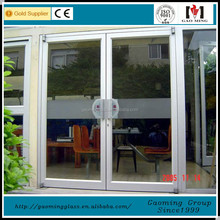 Competitive price commercial unbreakable aluminum glass doors lowes exterior wood doors