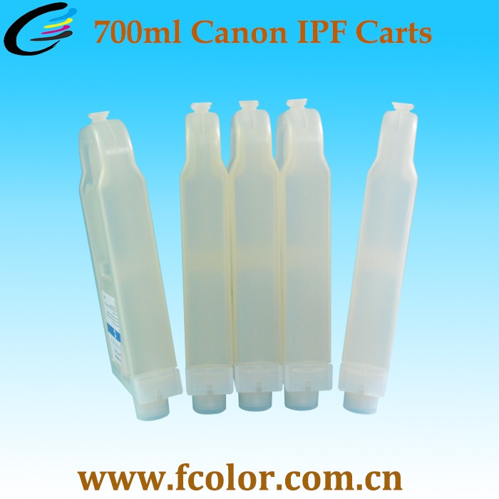 700ml PFI 704 Refillable ink Cartridge with Chip for Canon iPF8300 iPF8310 iPF9300 Printer