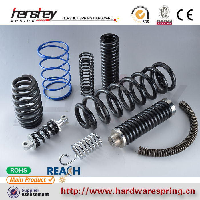 Customized High Quality Wholesale Stainless Steel Damping Compression Spring for Automobile or Bicycle in China