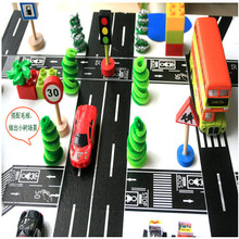 2015 new pattern free sample road marking cymk washi toy tape cars for toys