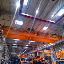 Steel factory traveling bridge crane