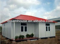 prefab house 3 bedrooms prefab homes/mobile high quality villa