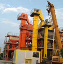China road machine 60-160tph batch stationary asphalt hot mix batching plant in cheap price