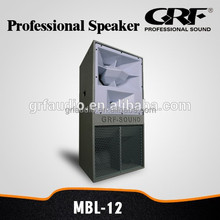 "GRF 12"" 3 way horn night club speaker"