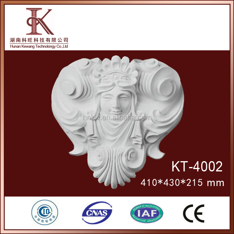 Factory Price Pu Decorative Antique Plastic Wall Plaques