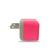 Customized colors universal portable mobile travel charger US folding plug AC wall charger for Samsung Table PC