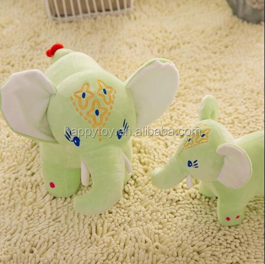 Wholesale custom elephant toys with big ears plush stuffed elephant