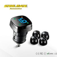 2015 Steelmate TP-76P auto parking monitor,temp sensor,car temperature gauge