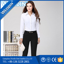 hot selling korean style lady top,new design woman top,office fashion blouses for women