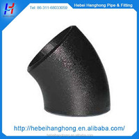 asme b16.9 of lr 15 degree carbon steel pipe elbow fittings plumbing materials in china