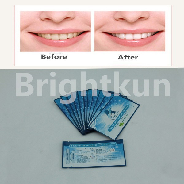 CE 6% hydrogen peroxide Teeth Whitening Strips, Good effect as Crest 3d whitestrips