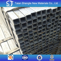 Q235 steel square galvanized tube/pipe China alibaba supplier with great price