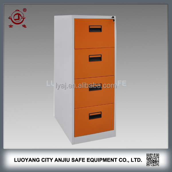office decorative 4 drawer steel filing cabinet