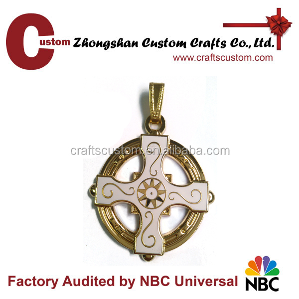 High Quality Circle windmill shape souvenir metal keychain as gifts
