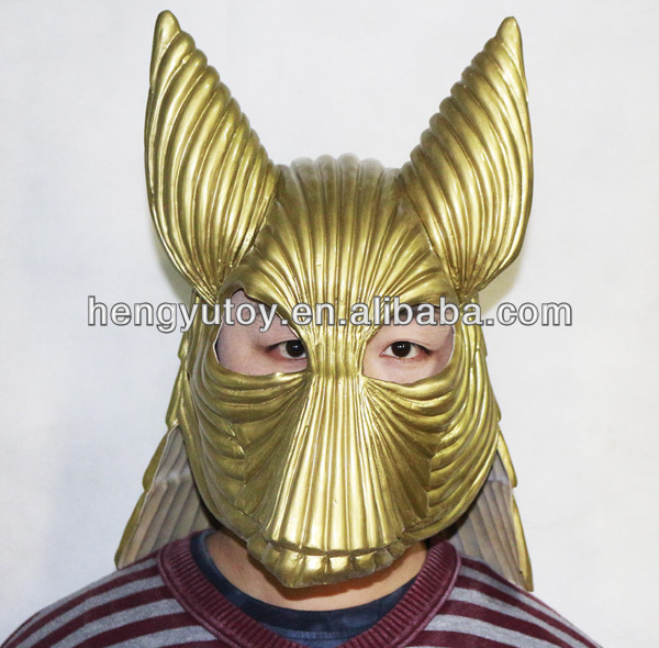 Movie Prop Replica Bram Stoker Halloween 1:1 Latex Bust Dracula Golden Armour Helmet Mask for Cosplay