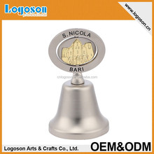 2015 Latest Trend Designed Souvenirs embossed Dinner Bells