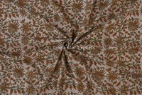 Jaipuri Block Print Upholstery Fabric By yard Indian Art Voile Cotton Fabric For Crafting