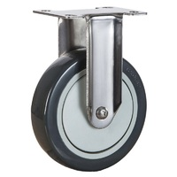 High Quality Plastic Fixed Small Caster Wheels For Trolley And Carts