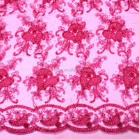 Sequins Wedding Embroidery Lace Fabric