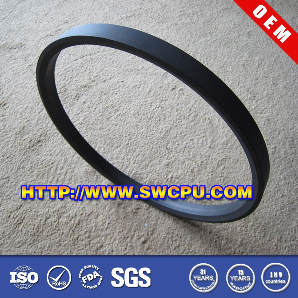 Wear resistant food grade plastic washers